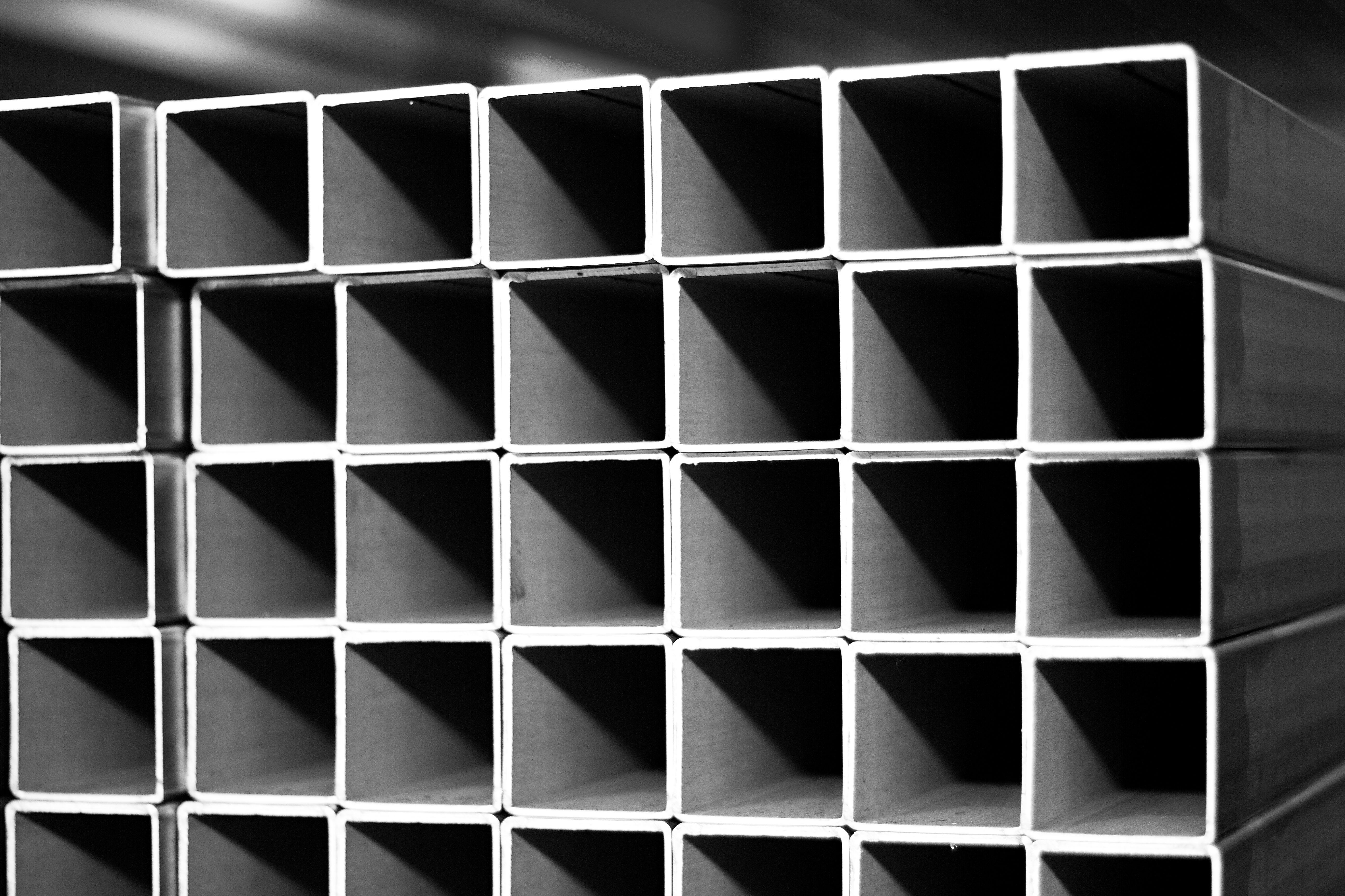 Nerezové štvorcové rúry